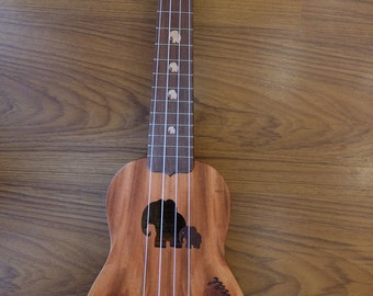 Great sound custom Thai woods handmade ukulele.Soprano Size.