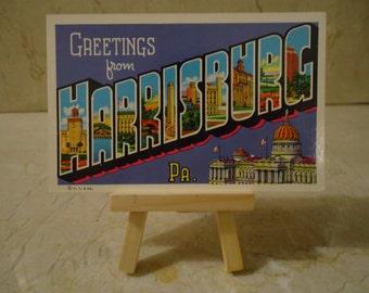 Harrisburg Pennsylvania Postcard Notebook MADE TO ORDER
