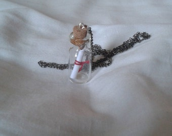 Message-in-a-bottle Necklace