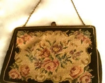 Vintage 20's Hand Embroidered Purse                            VG2374