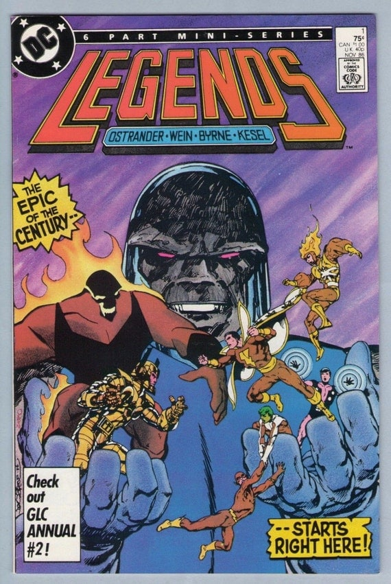 Legends 1 Nov 1986 NM- (9.2)