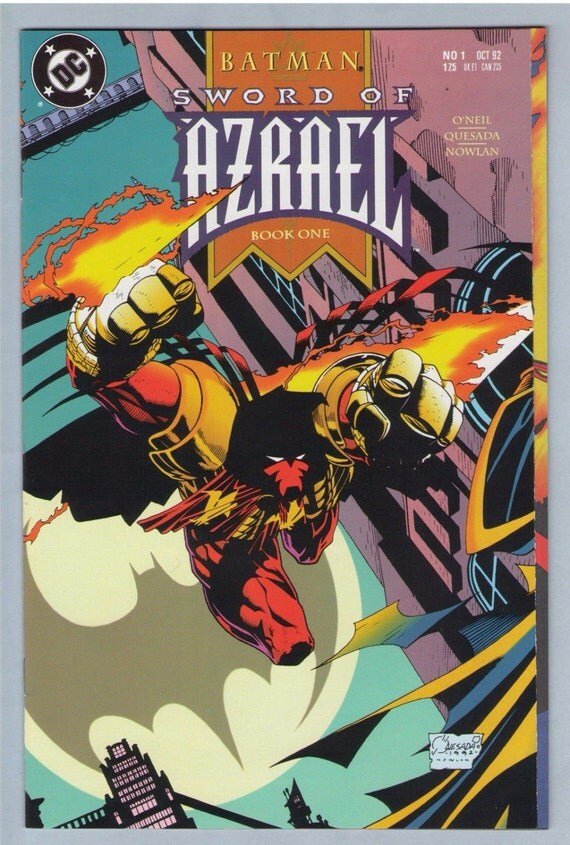 Batman - Sword of Azrael 1 Oct 1992 NM- (9.2)