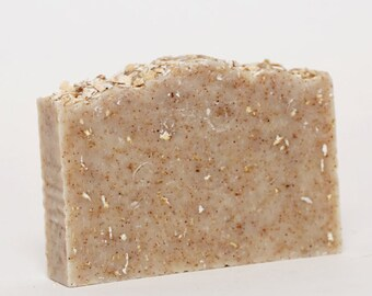 Handmade Oatmeal & Apricot Soap