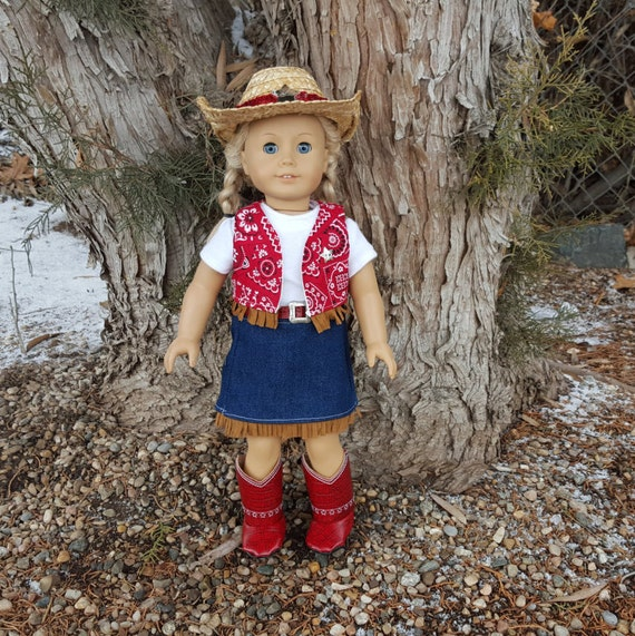 Doll Cowgirl Outfit