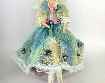 Rag Doll ,Angel. Cloth art, doll art,doll collector, decorative doll, shabby chic,fabric art
