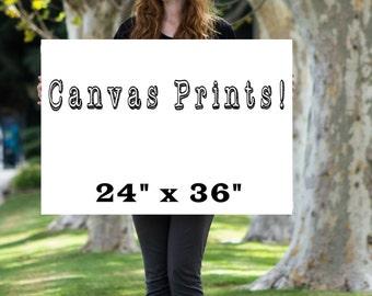 Canvas print, canvas wall art, canvas upgrade, 36 x 24 print