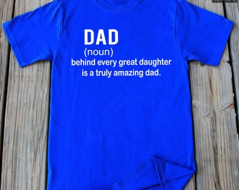 Dad T-Shirt Father Daughter Shirt Gift For Dad Daddy Shirt Dad Shirt Fathers Day Gift Father Shirt Christmas gift for daddy
