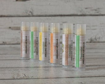 Lip balm bundle - 3 (mix or match flavors) All Natural Lip Balm