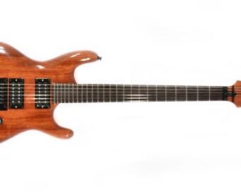 Electric Guitar - One Piece Body-Neck - Bubinga