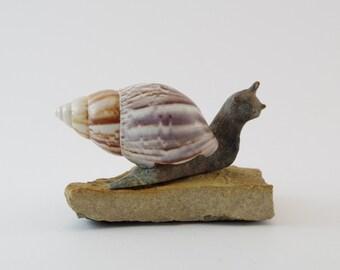 Soapstone Snail