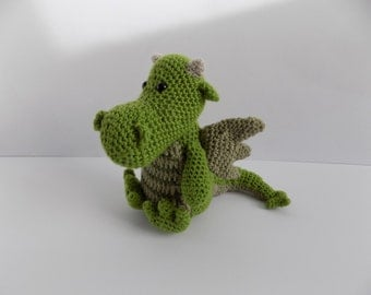Dragon handmade soft toy