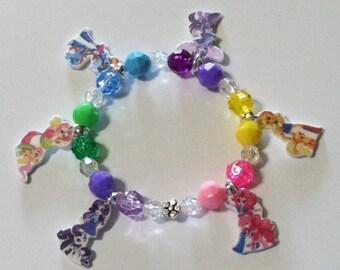Equestria Girls Mane 6 with My Little Pony Charm Bracelet, Equestria Girls Charm Bracelet, My Little Pony Equestria Charm Bracelet