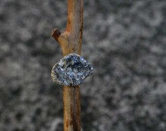 Raw Stone - Sparkly Earring - Single Stud - Minimalist