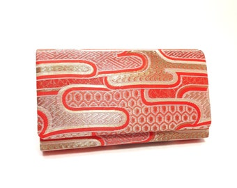 Vintage Japanese Kimono Clutch Bag, Purse Evening Handbag, Prom bag, Wedding, Kimono bag, Silk bag, Wedding bag, Night Out, Gift for her
