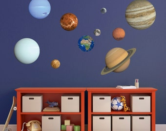 Planet Wall Sticker Set - Solar System Wall Sticker Set