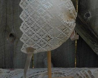 Baby Bonnet - Vintage Styling