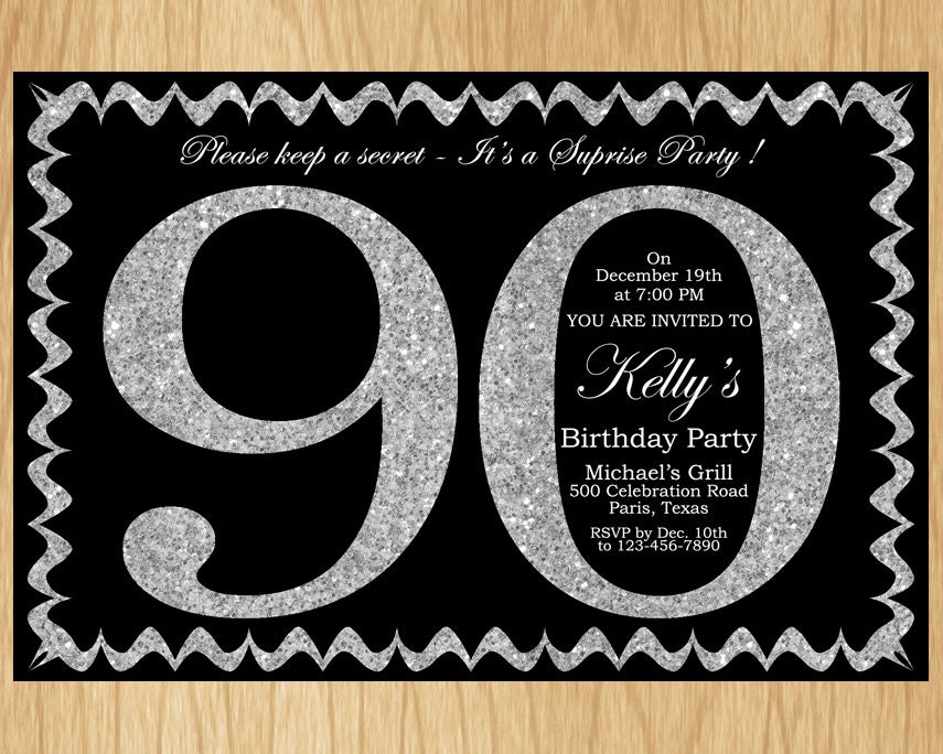 Surprise Party Invite Wording is perfect invitations layout