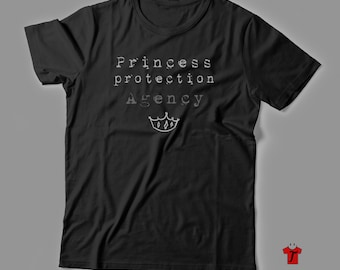 Princess Protection T Shirt // disney shirt // tough disney shirt // mens disney shirt // couple disney shirt // husband disney shirt