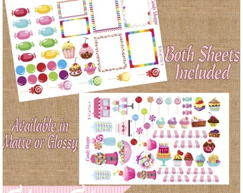 Candy Shoppe Cute Planner Stickers