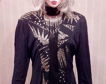 Vintage Glamour Disco / Rock Chic Jacket , SOLD , do not buy