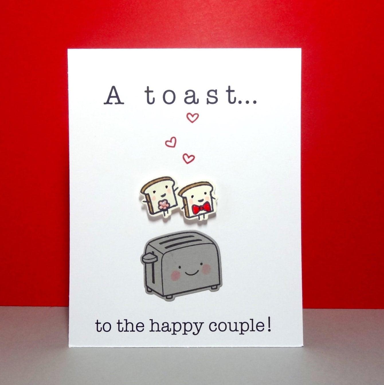 Wedding Card Engagement Card Funny Wedding Card