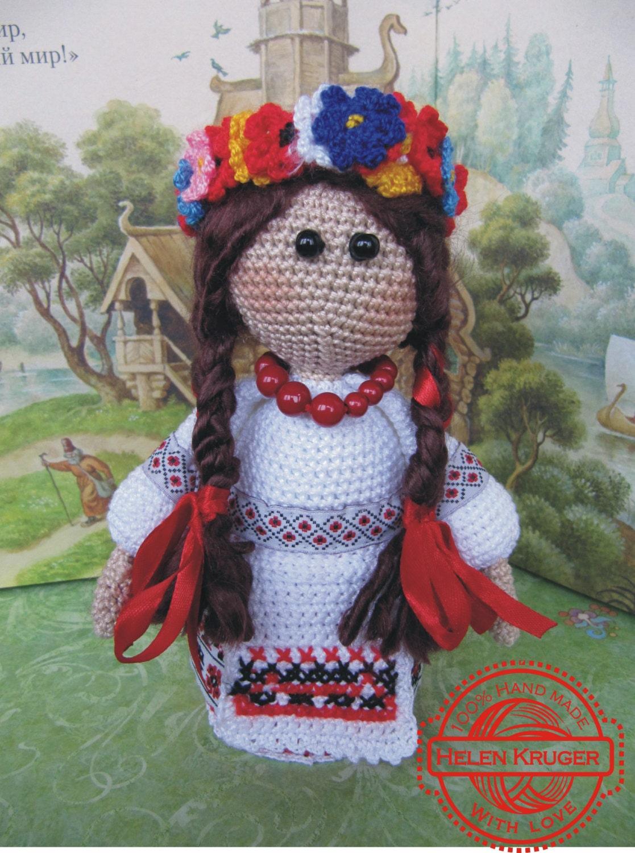 Ukrainian Doll handmade Ukrainian souvenir folk Ukrainian art
