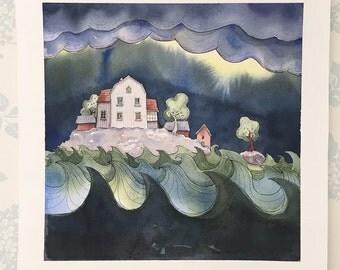 Stormy Seas 2 - Fine Art Giclée limited edition print