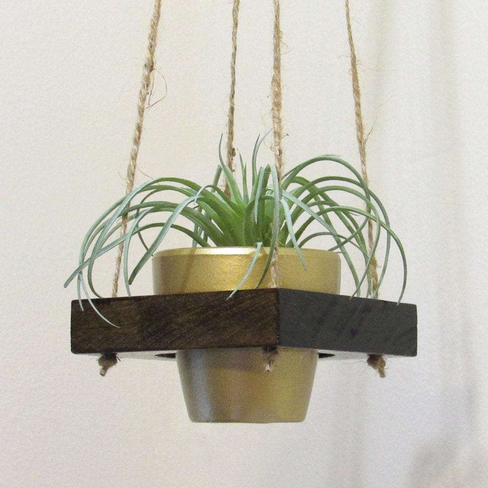 air plant holder hanging planter succulent pot modern. Black Bedroom Furniture Sets. Home Design Ideas