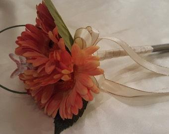 Flowergirl Posy Gerbera Posy Wedding Flowers