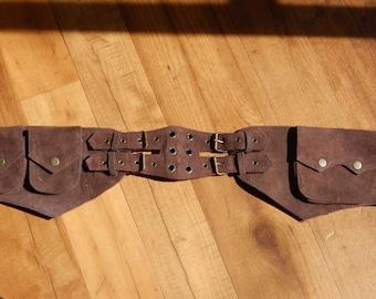 Leather Utility Belt- 11