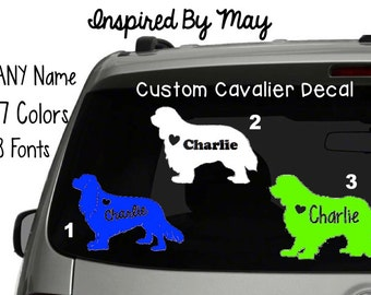 Custom Cavalier Decal - YOU CHOOSE!