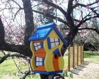 Dr Seuss - style Birdhouse - color choice