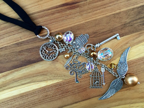Harry Potter Inspired Rear View Mirror Charm Car Accessories