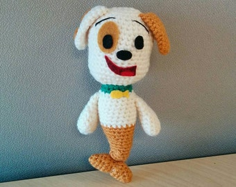 Bubble Guppies Bubble Puppy Crochet Amigurumi Doll