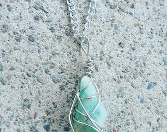 Short Amazonite Necklace
