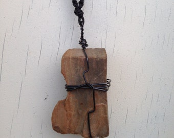 Thick Rock Necklace