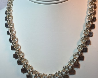 Sterling Silver Inspiration Necklace