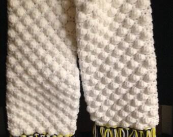 Women's neck scarf, winter scarf, crochet scarf