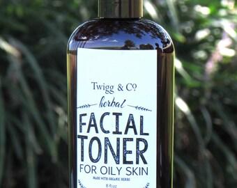 Twigg&Co. Facial Toner for Oily Skin 8 oz