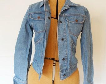 Denim fitted Gap jacket