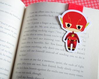 Flash magnetic bookmark Barry allen