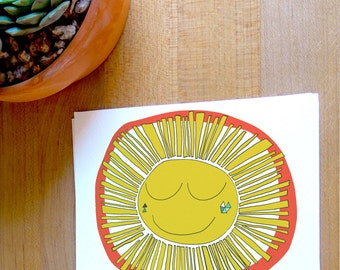 Fine Art Card - Hello Sunshine