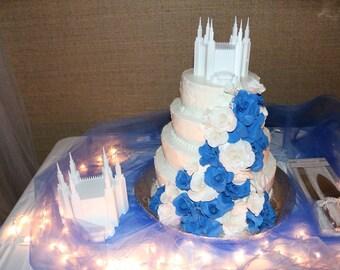 Ogden Temple Cake Topper