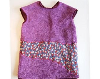 bapron bib baby apron flowers