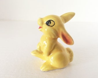 Disney  Bambi Yellow Thumper made by Goebel