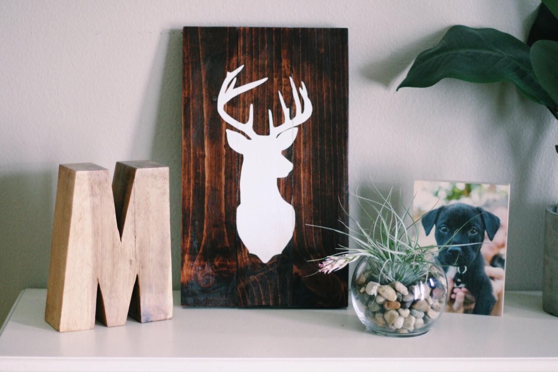 deer wall decor Southern farmhouse farmhouse decor hunting