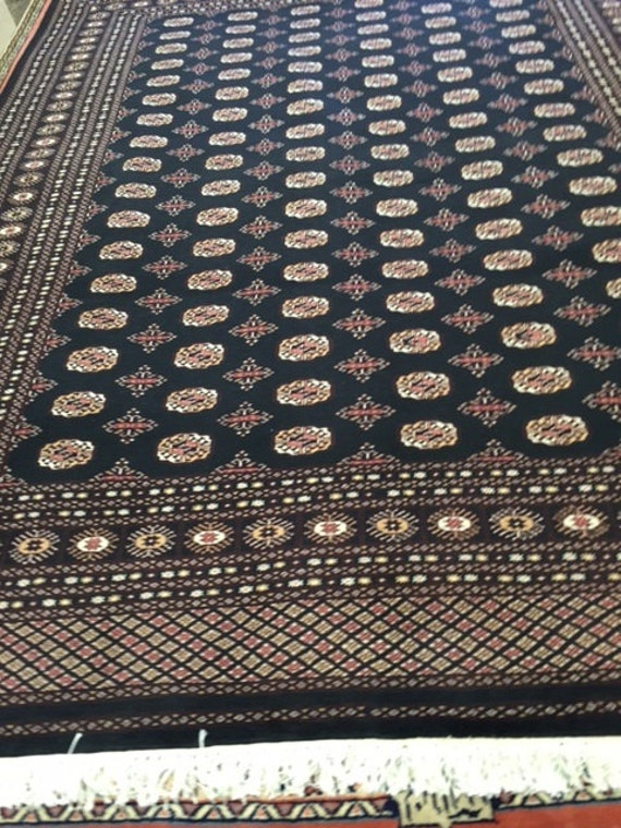 "8'3"" x 11'3"" Pakistani Bokhara Oriental Rug - Very Fine - 100% Wool - Hand Made"