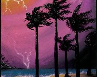 Art Print - 'Tropical Storm'