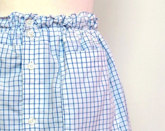 Skirt Blue Pattern