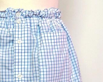 Skirt Blue Pattern